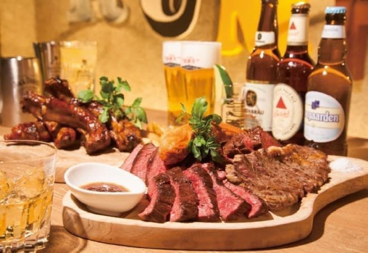 神田の肉バル RUMP CAP 肉とドリンク