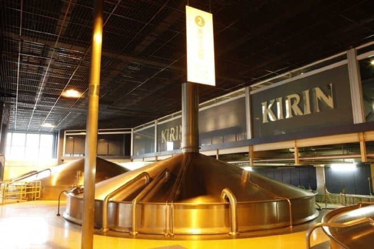 キリンビール横浜工場「大人の夜の工場見学ツアー」イメージ