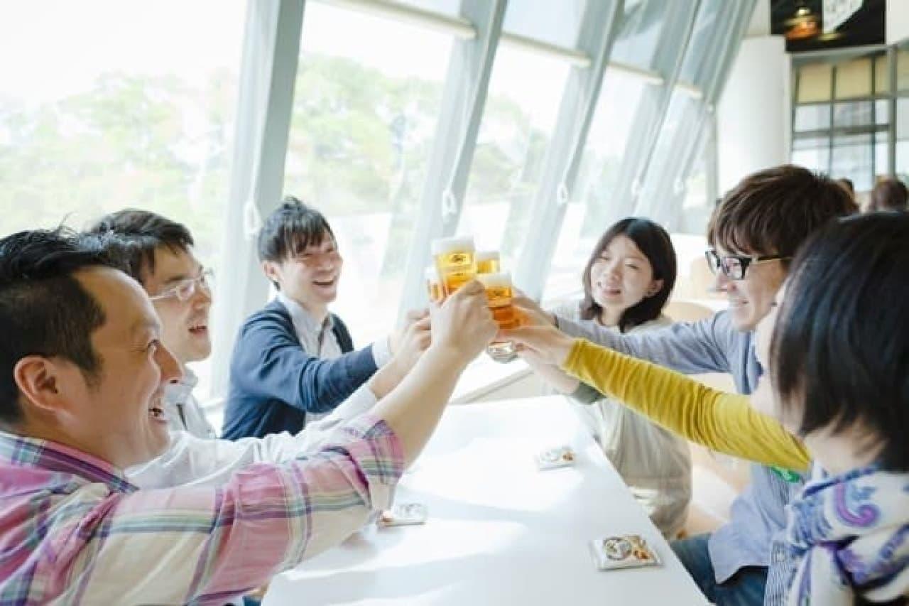 キリンビール横浜工場「大人の夜の工場見学ツアー」