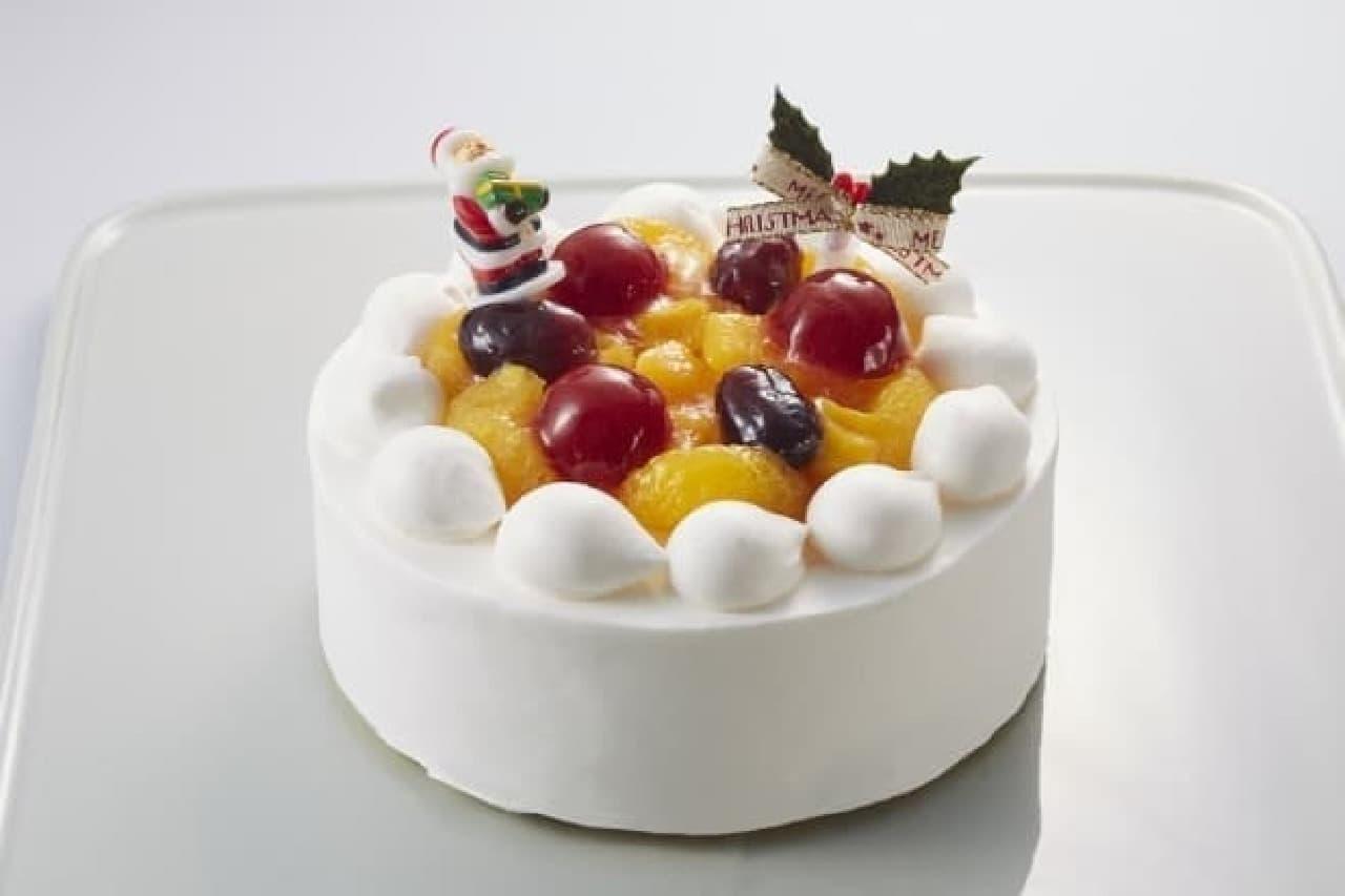 ローソンクリスマスケーキ2016、フルーツケーキ5号