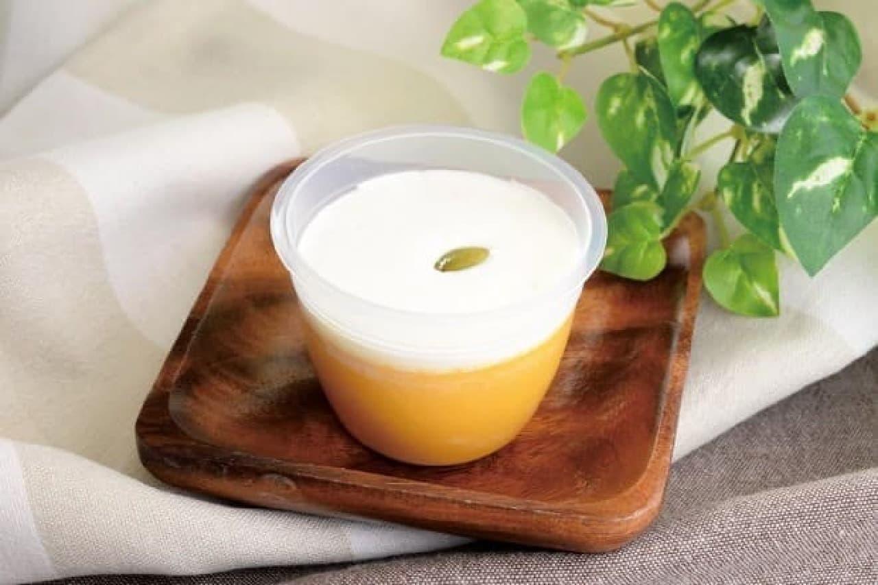 ローソン、味平カボチャ使用の「かぼちゃプリン」