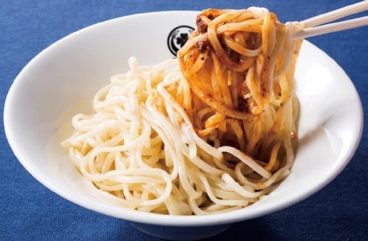 東京MEAT酒場「のっけ麺」