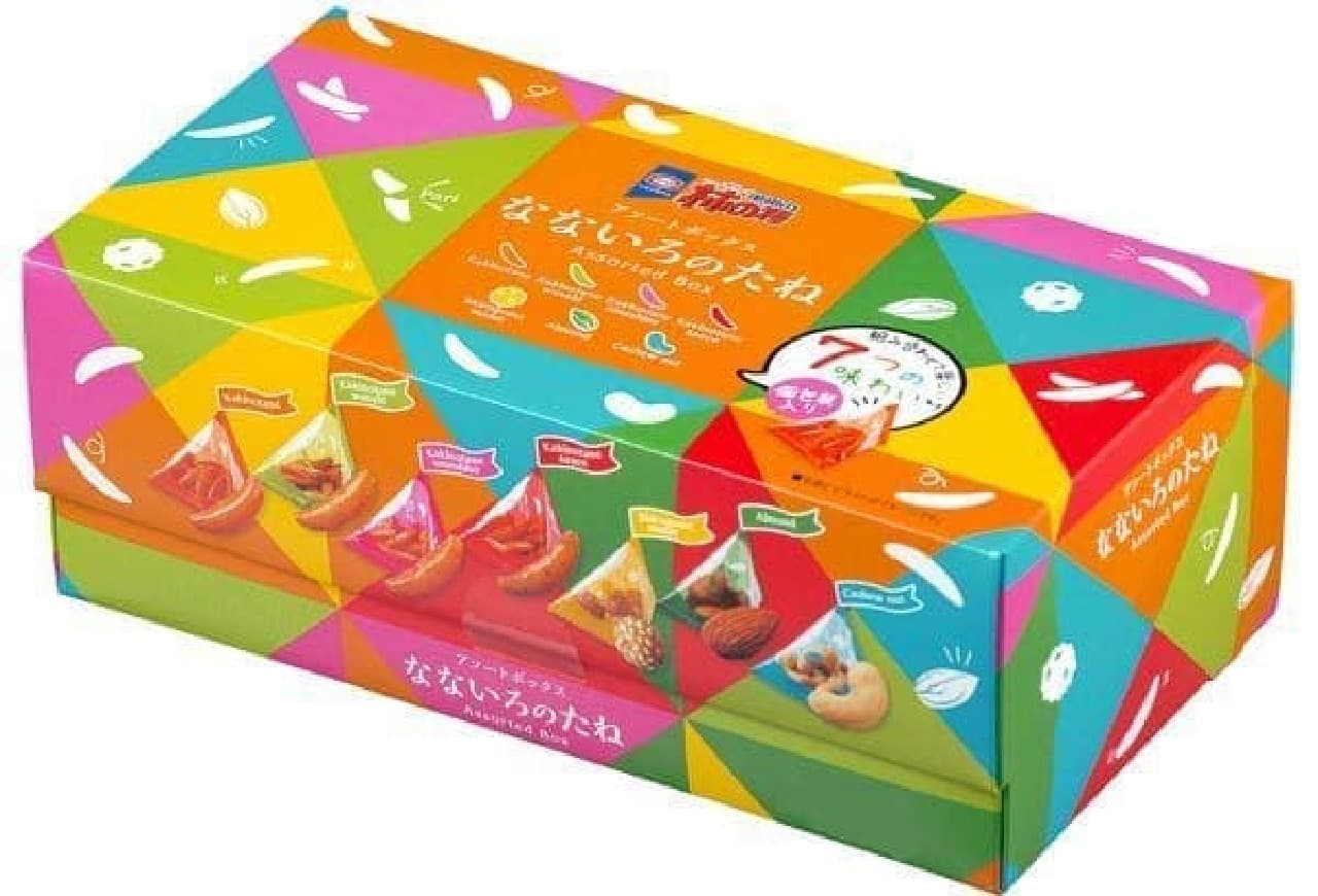 亀田製菓「亀田の柿の種 なないろのたね ボックス」