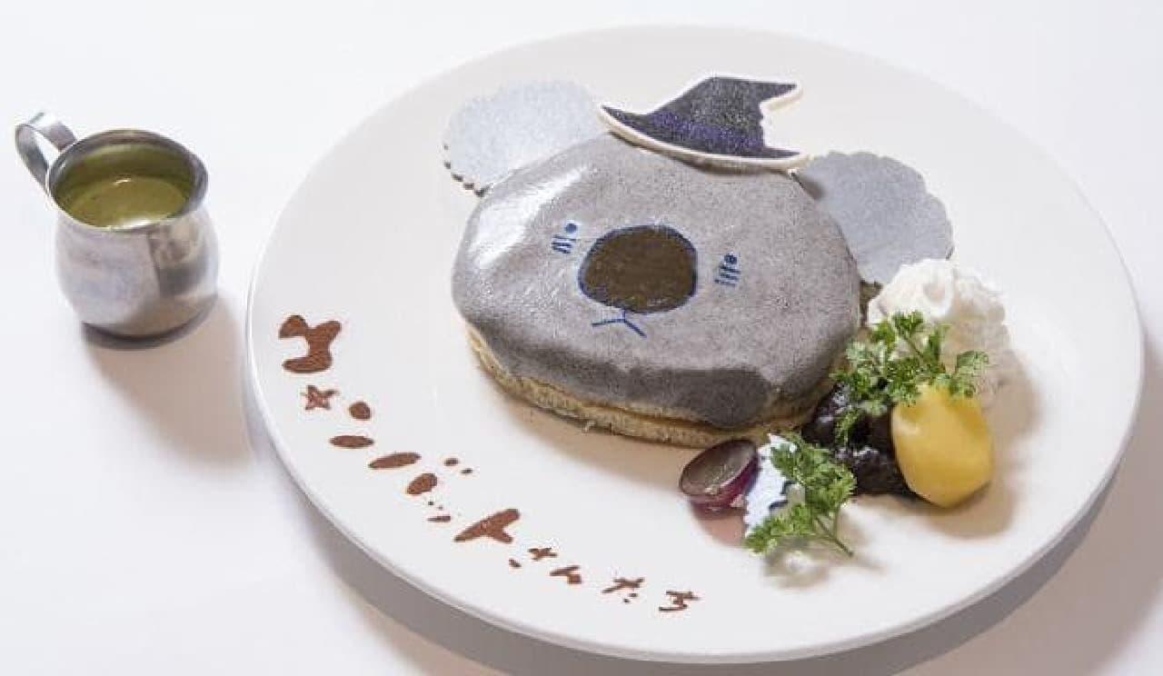 ウォンバットさんたち ハロウィンカフェ「魔女っ子コアラさんのパンケーキ」