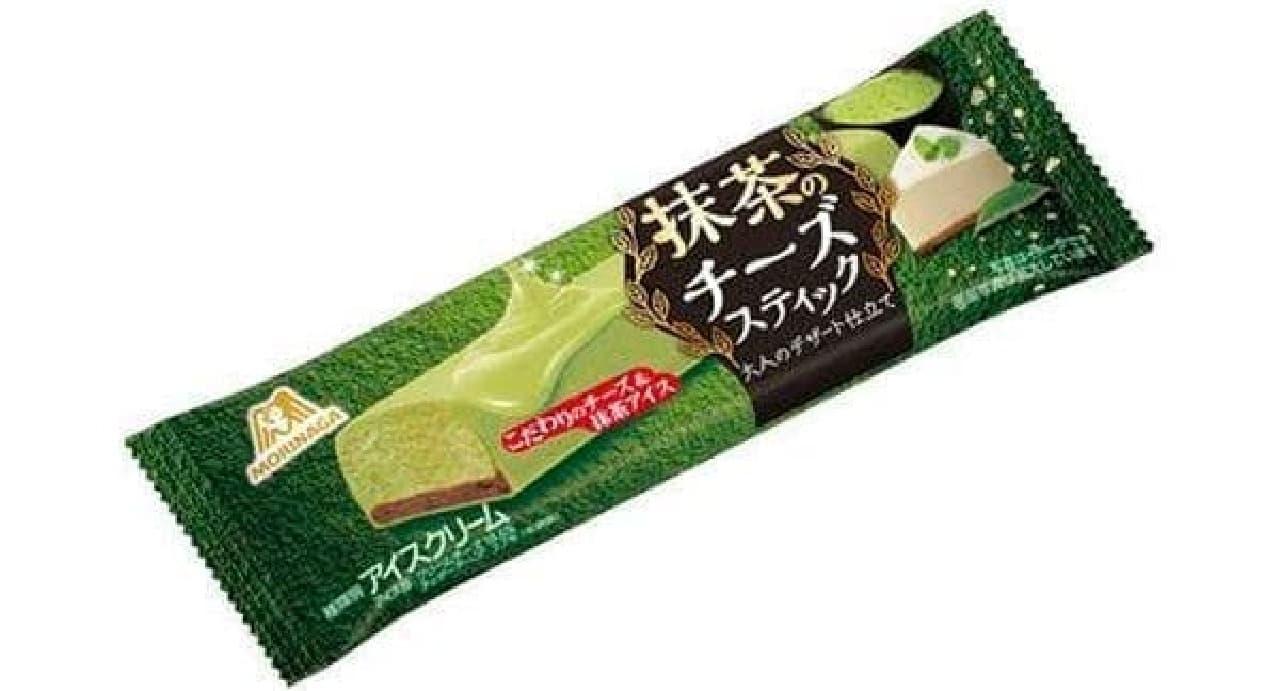 森永製菓「抹茶のチーズスティック」
