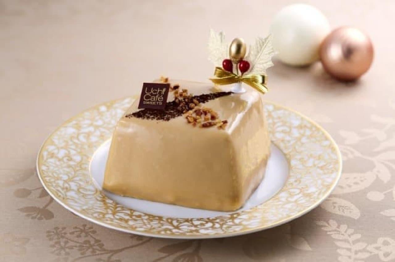 ローソンクリスマスケーキ2016、ブロンドチョコレートのスペシャルケーキ