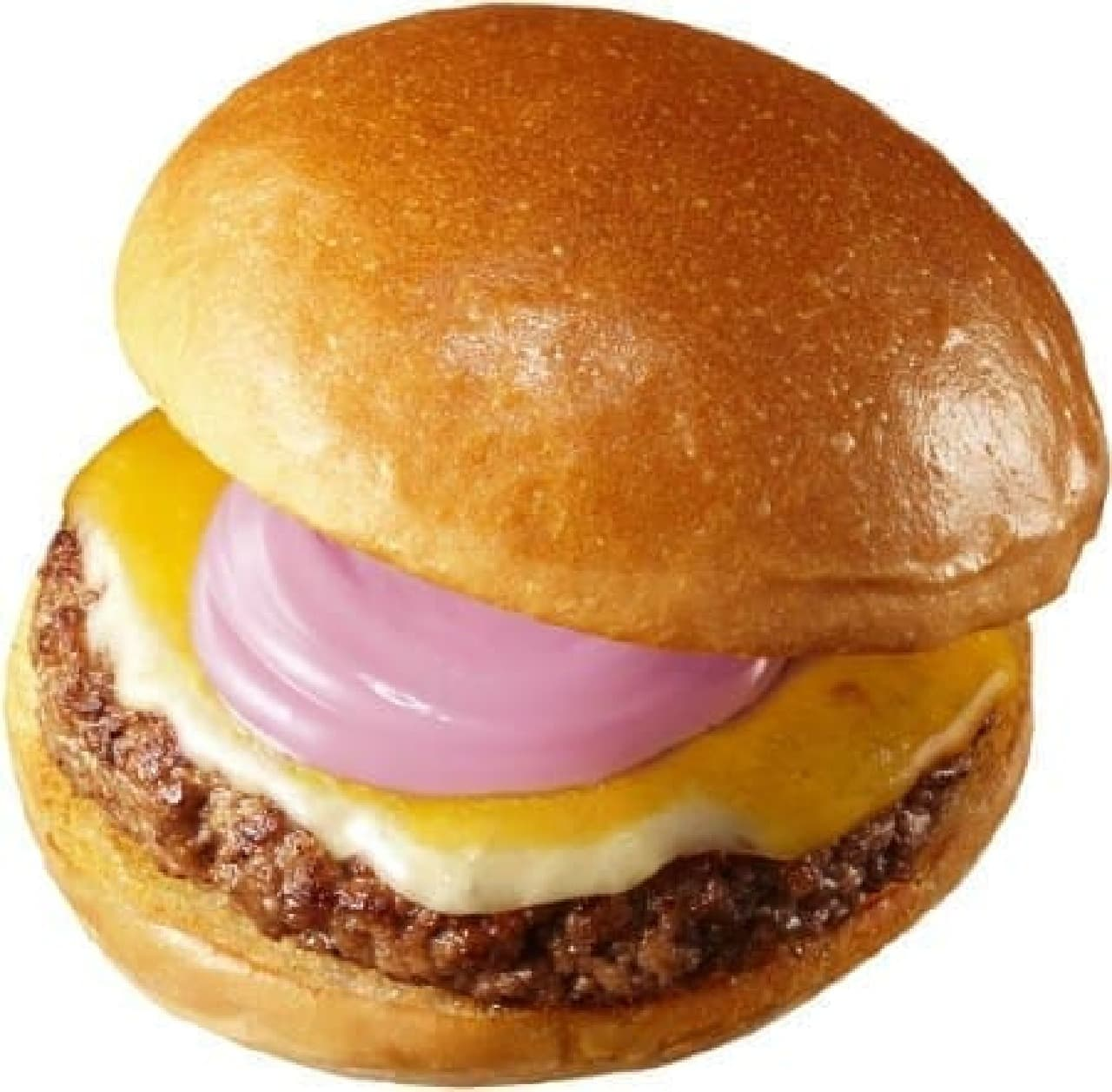 ロッテリア「紫魔術の絶品チーズバーガー」