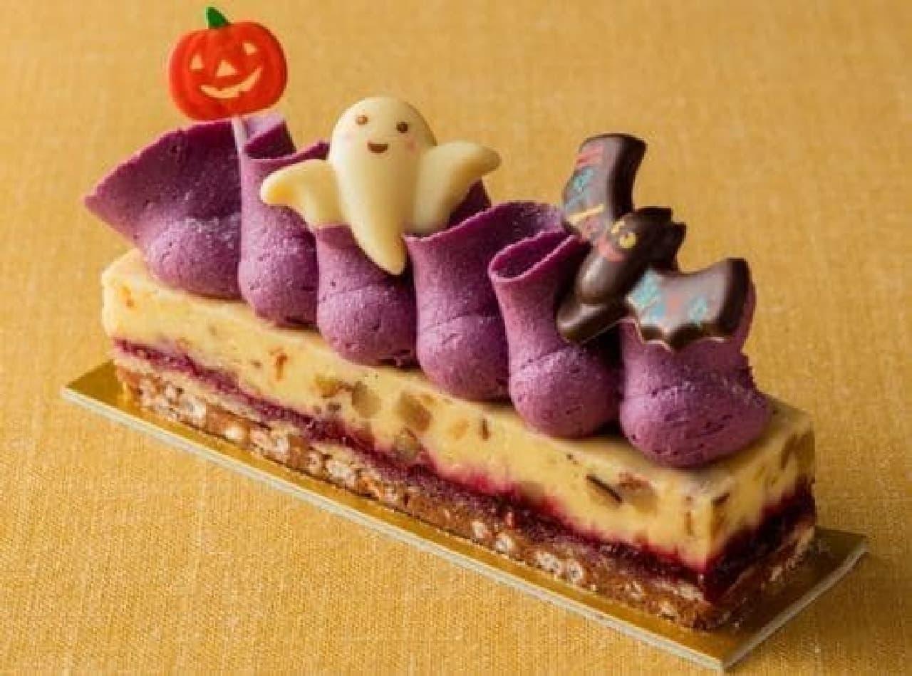 セルリアンタワー東急ホテル「紫芋のモンブラン」