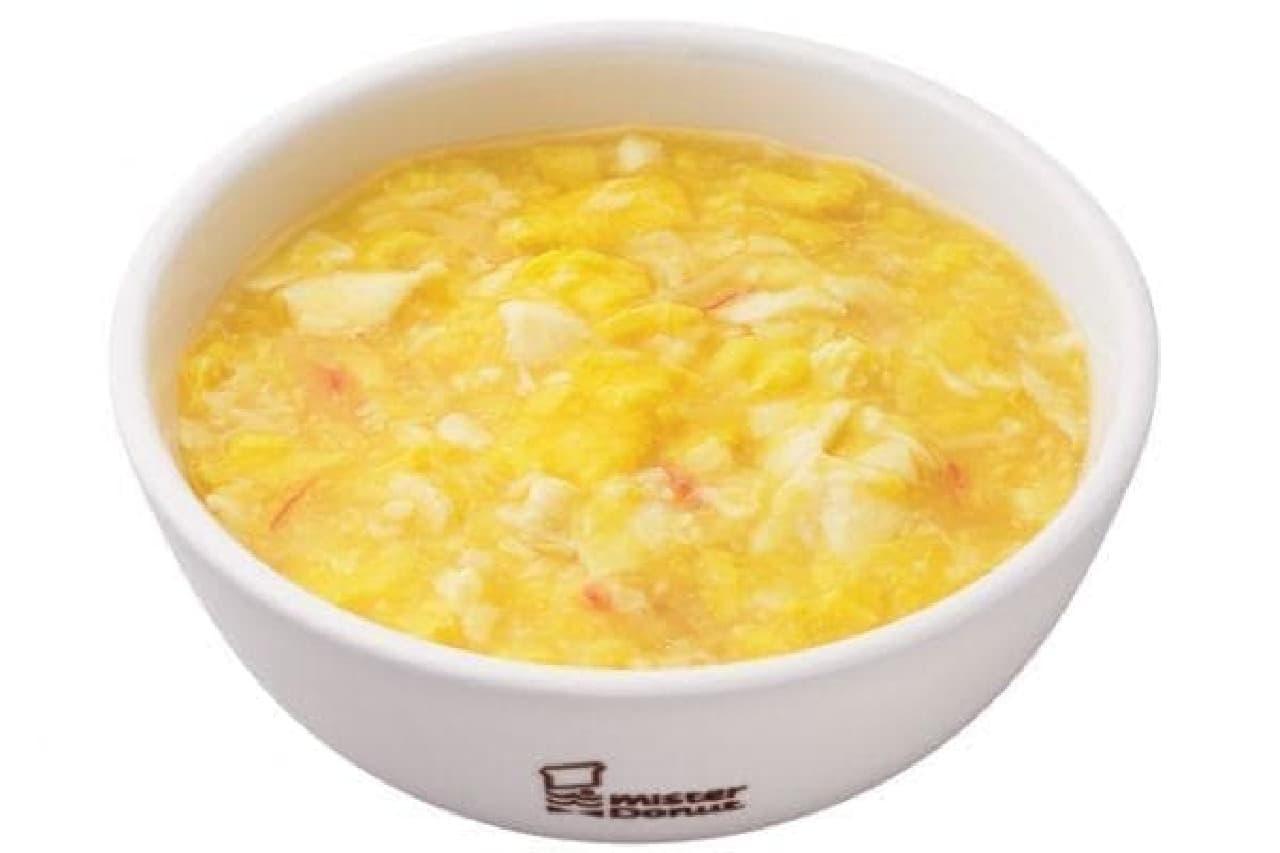 ミスタードーナツ「ふんわり玉子の天津麺」