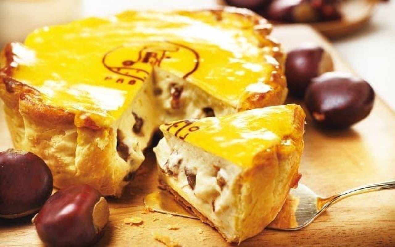 パブロ「焼きたてマロンチーズタルト」