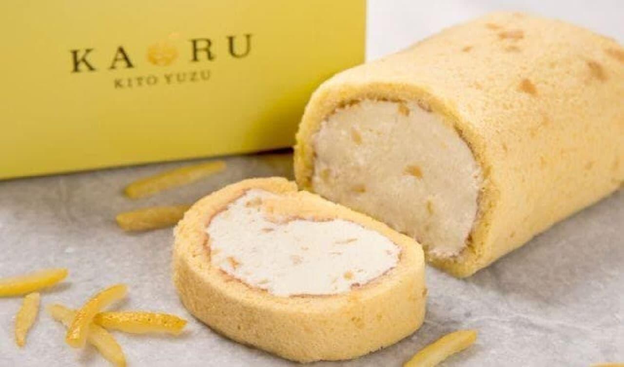KAORU-KITO YUZU-「木頭柚子ロールケーキ 」