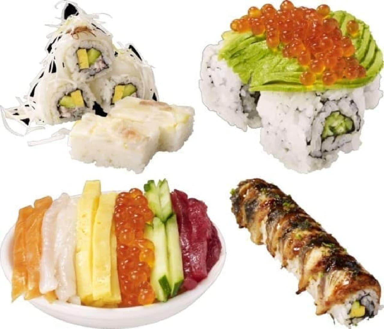 かっぱ寿司 10月の特ネタ「全国お祭り寿司」