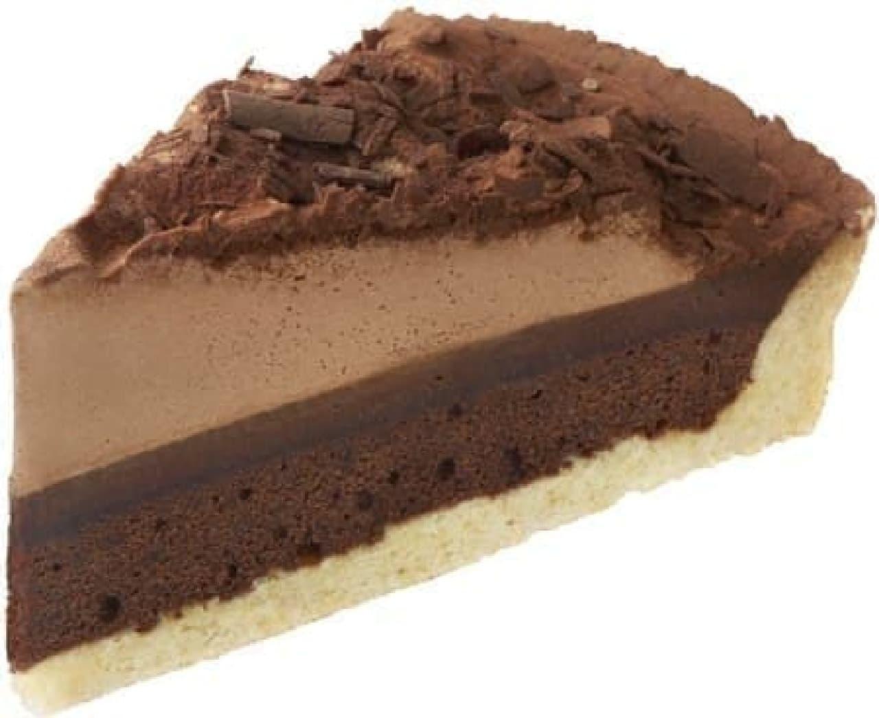 マックカフェ「チョコレートタルト」