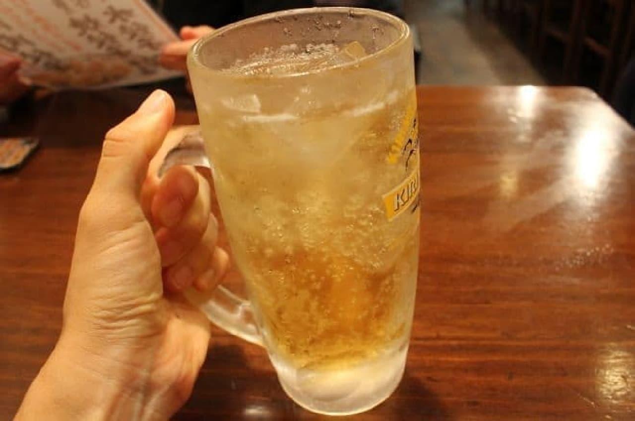豆金餃子「乙女ハイボール」