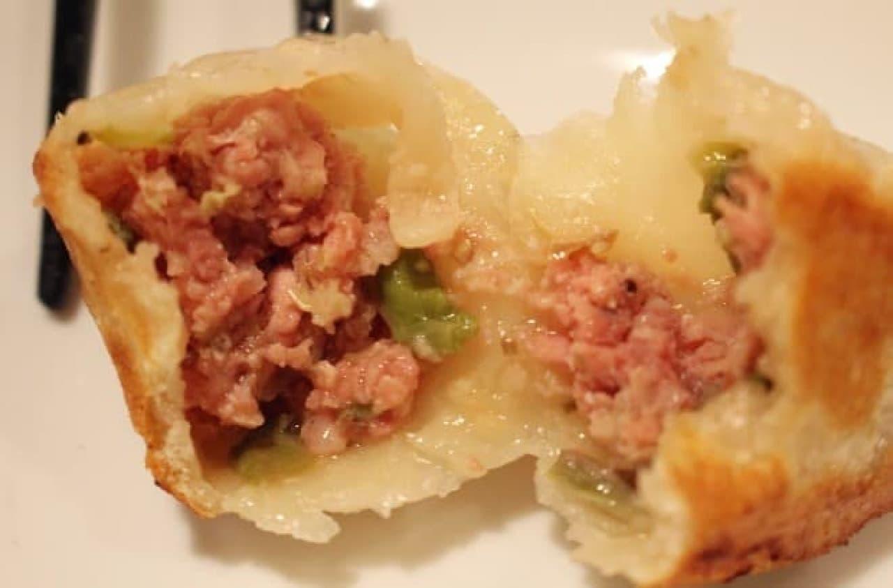 豆金餃子「手打ち肉肉餃子」