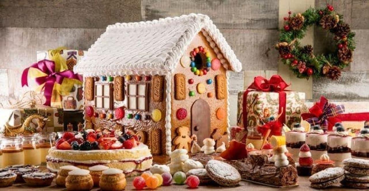 ヒルトン東京のデザートフェア「ヘンゼルとグレーテルのお菓子の家」