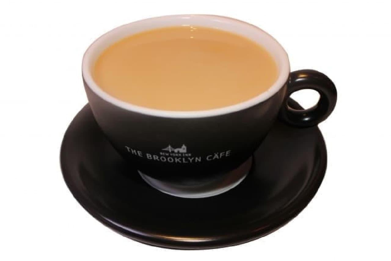 関鍛冶CAFE&あずきBAR in 刃物まつりのあずきバーキャラメル豆乳カフェオレ