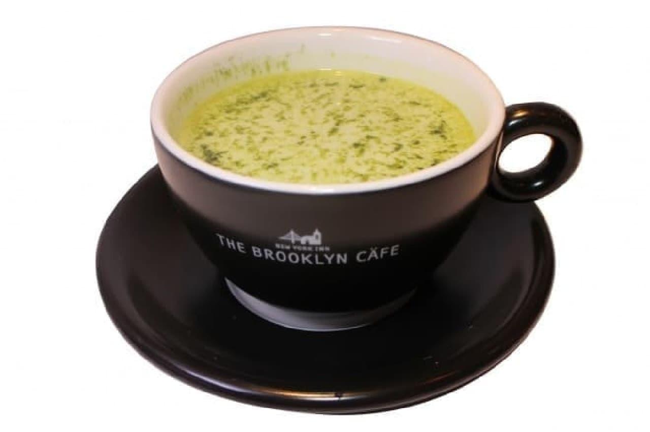 関鍛冶CAFE&あずきBAR in 刃物まつりのあずきバー豆乳抹茶オレ