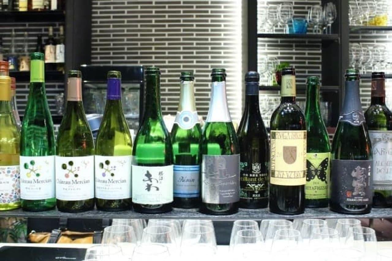 tetote、山梨県産のお酒