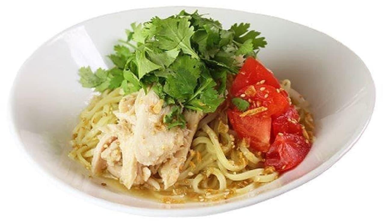 春水堂「塩鶏香菜乾麺」