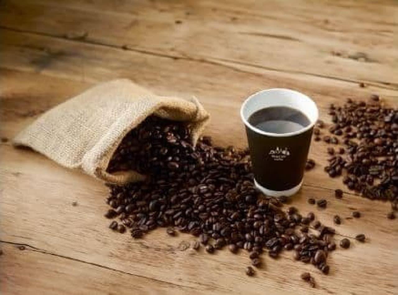 ローソン「MACHI cafe カフェインレスコーヒー」