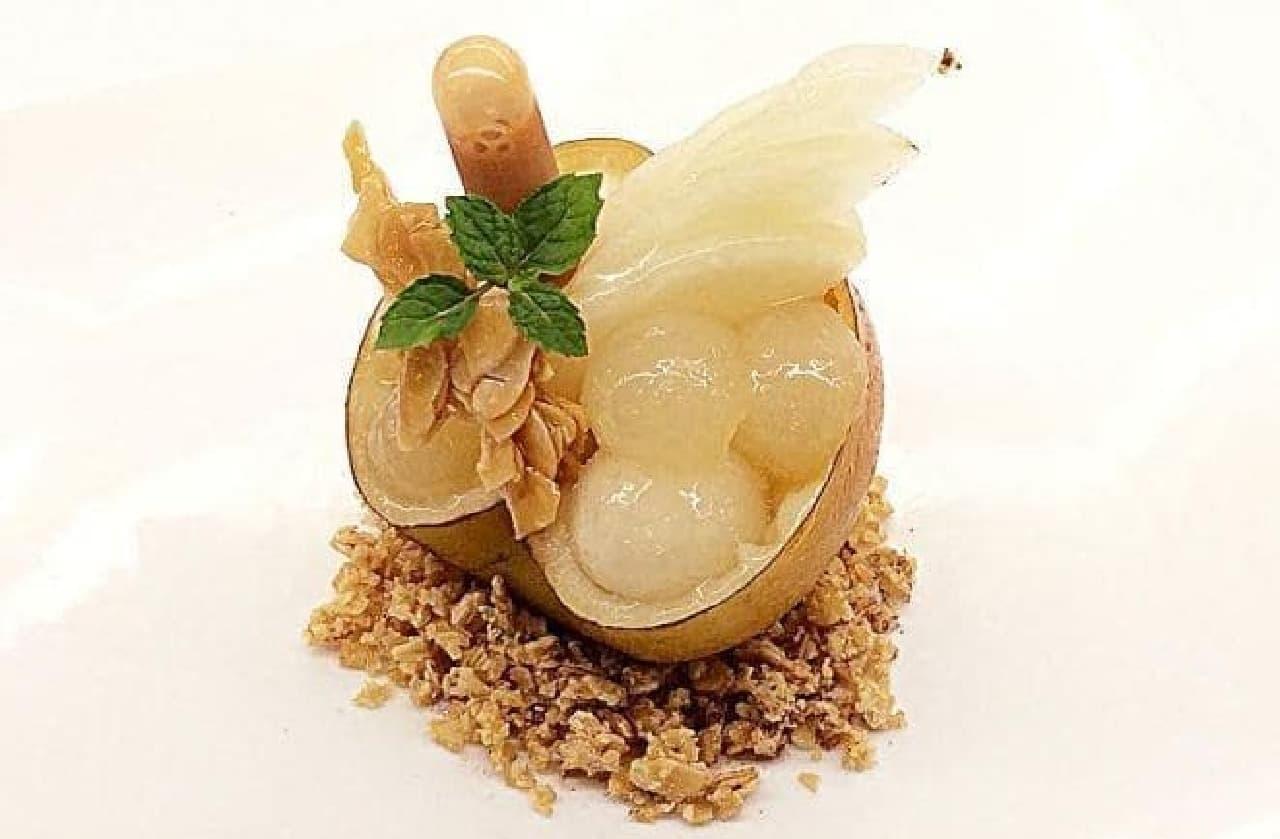 カフェコムサ「Brilliant梨~福島の宝箱~」