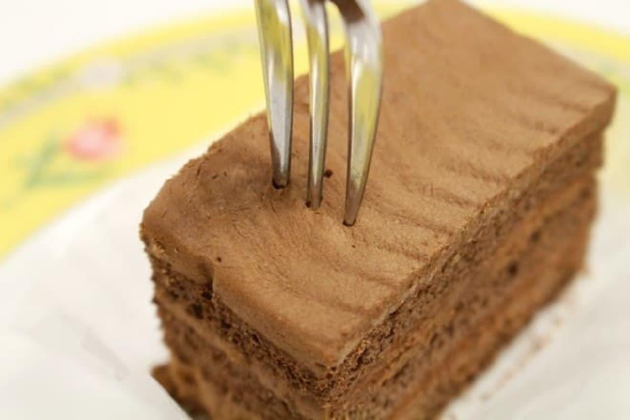 スペースフード「チョコレートケーキ」