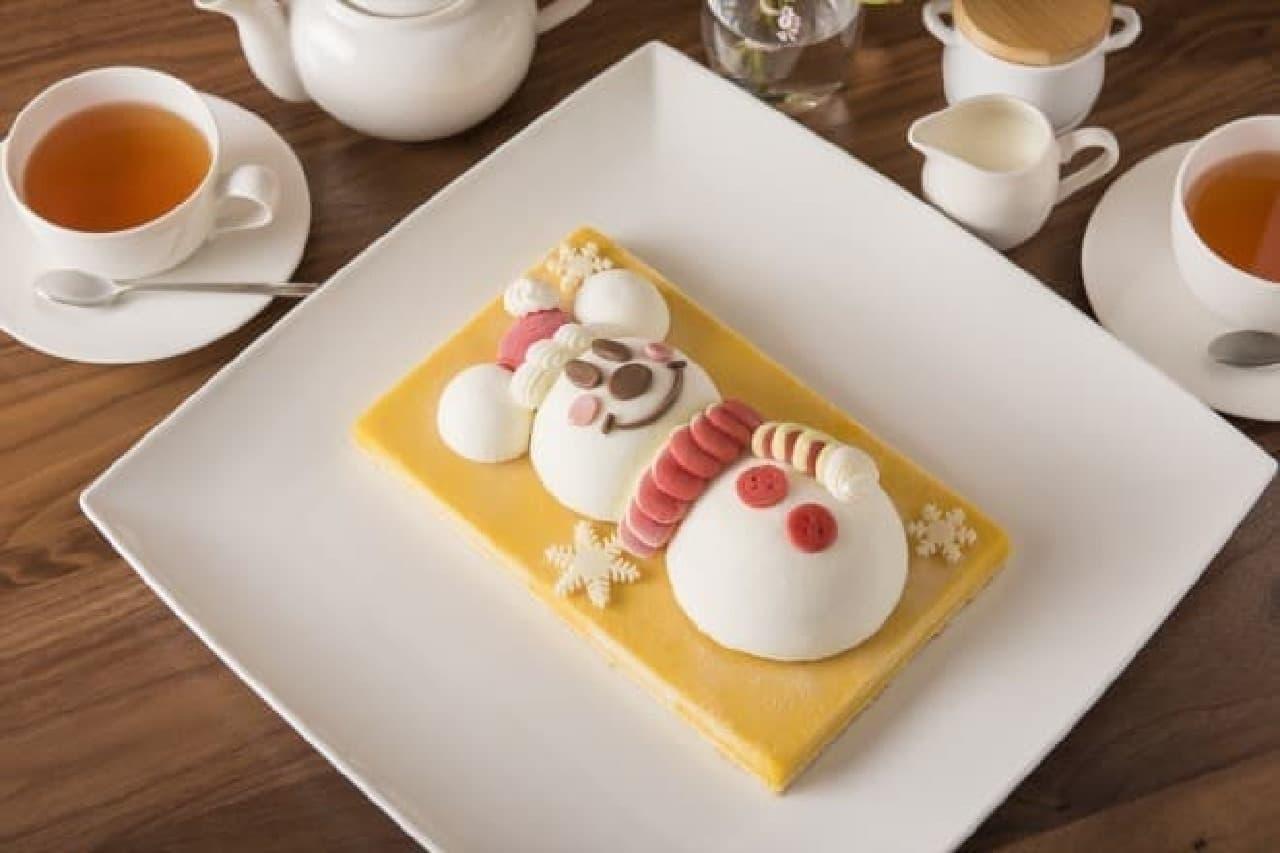東京ディズニーリゾート「スノースノー・アイスケーキ」
