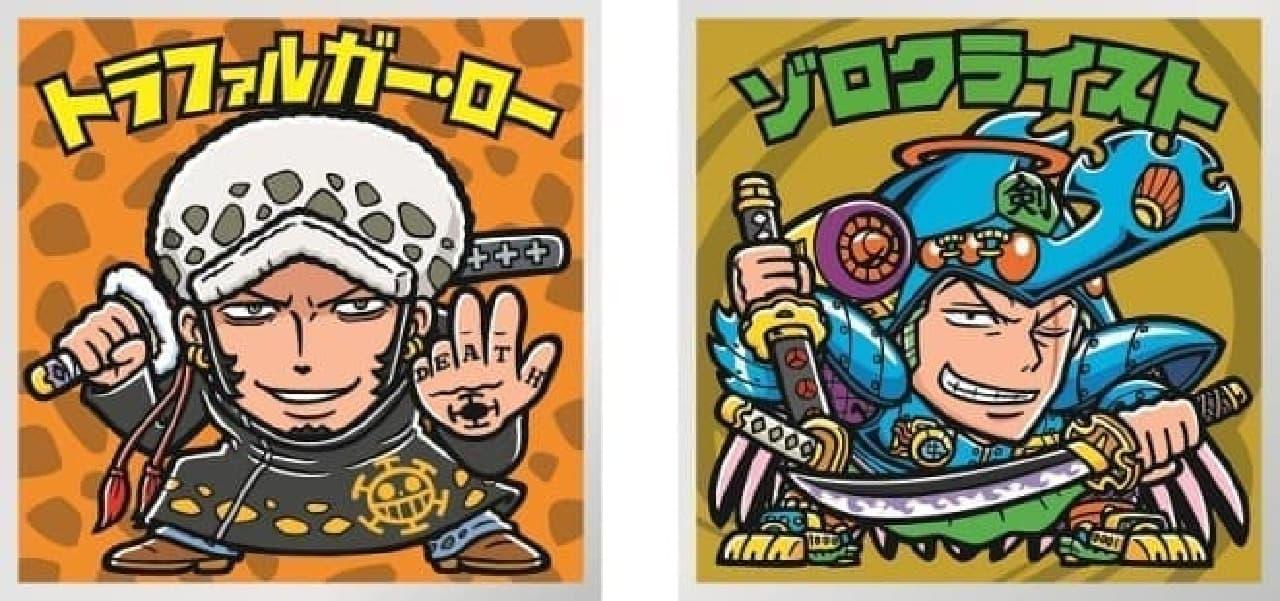 ロッテ「ワンピースマンチョコ」 コレクターズシール