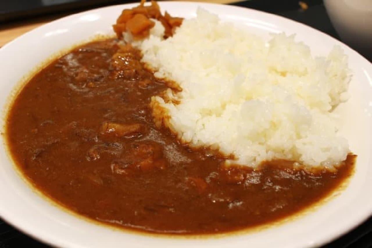ヤフージャパン 社員食堂「辛いビーフカレー」