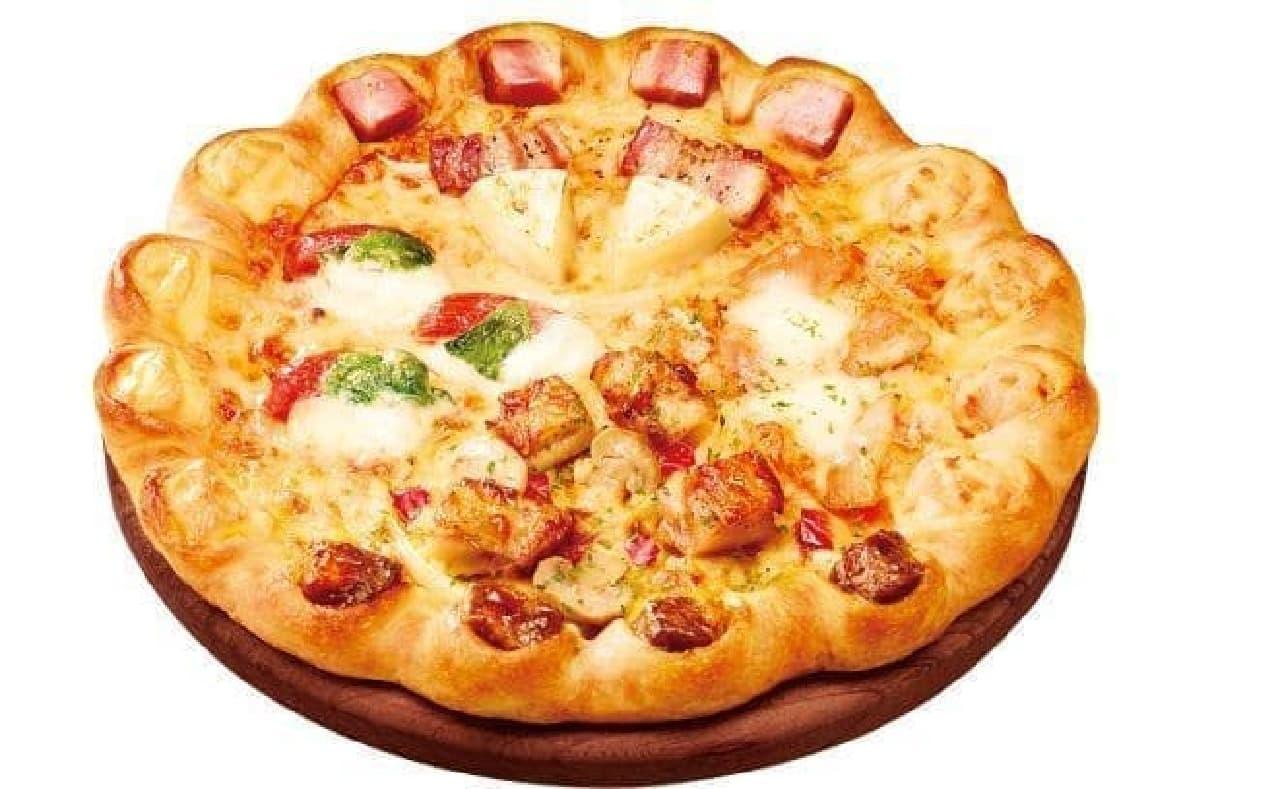 ピザハットの「ぜいたくサプライズ4」