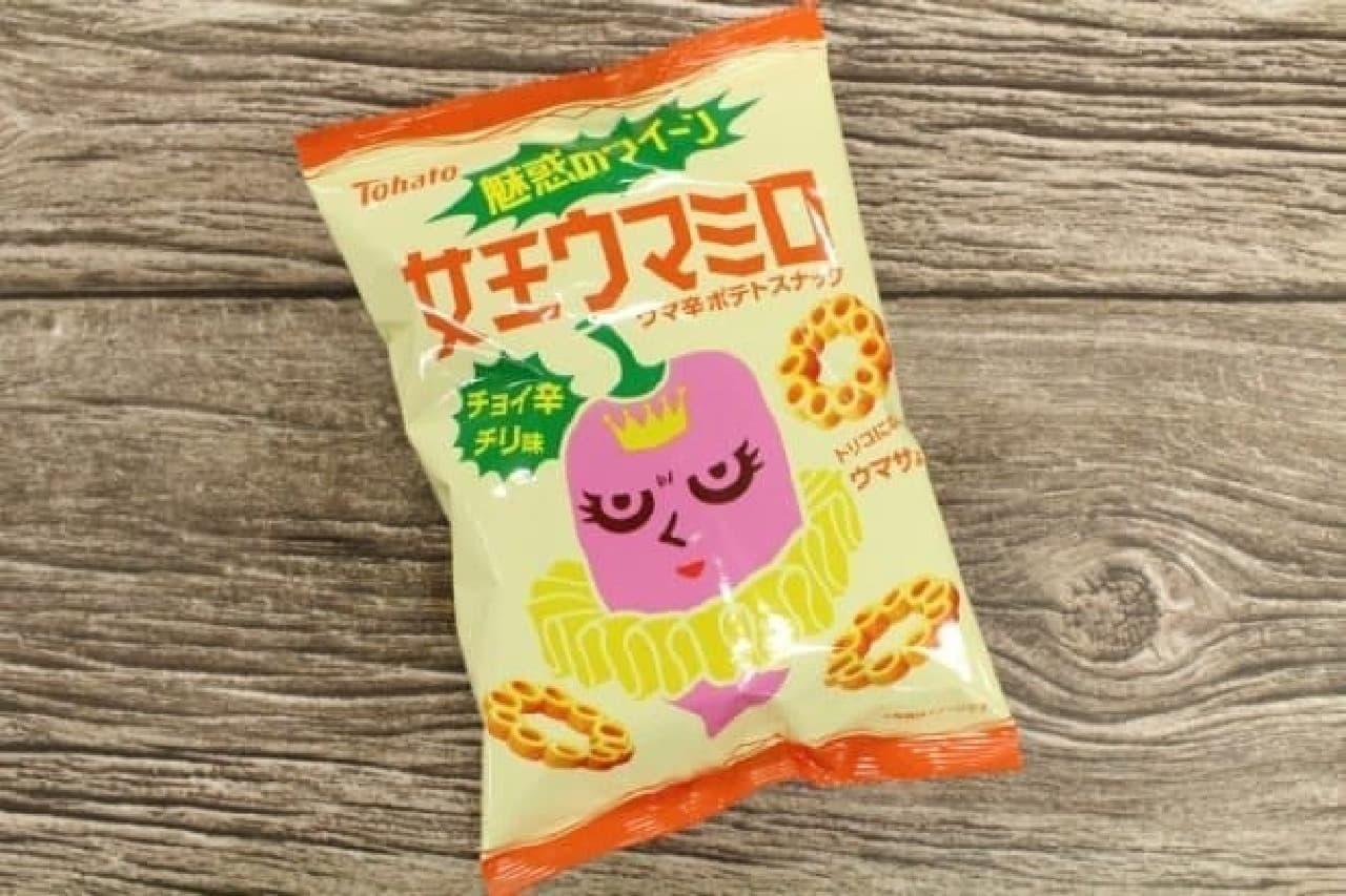 東ハト「女王ウマミロ・チョイ辛チリ味」