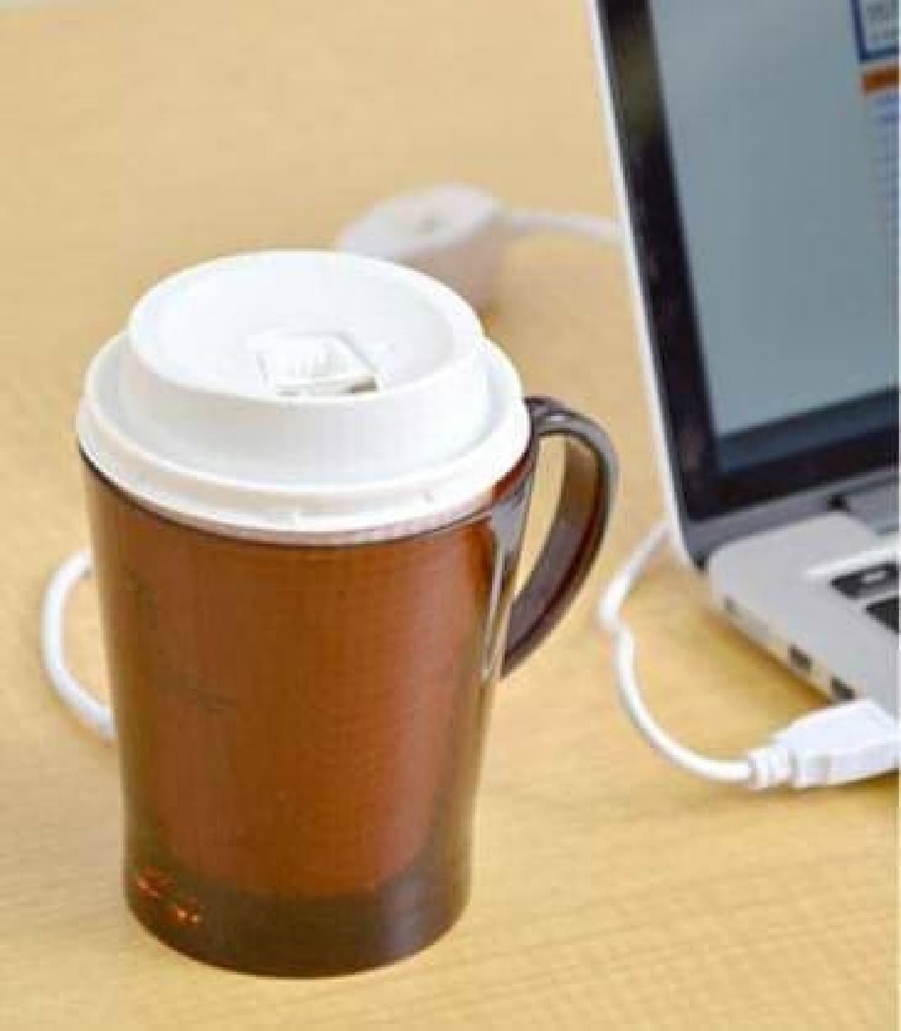 USBあったか紙コップウォーマー2