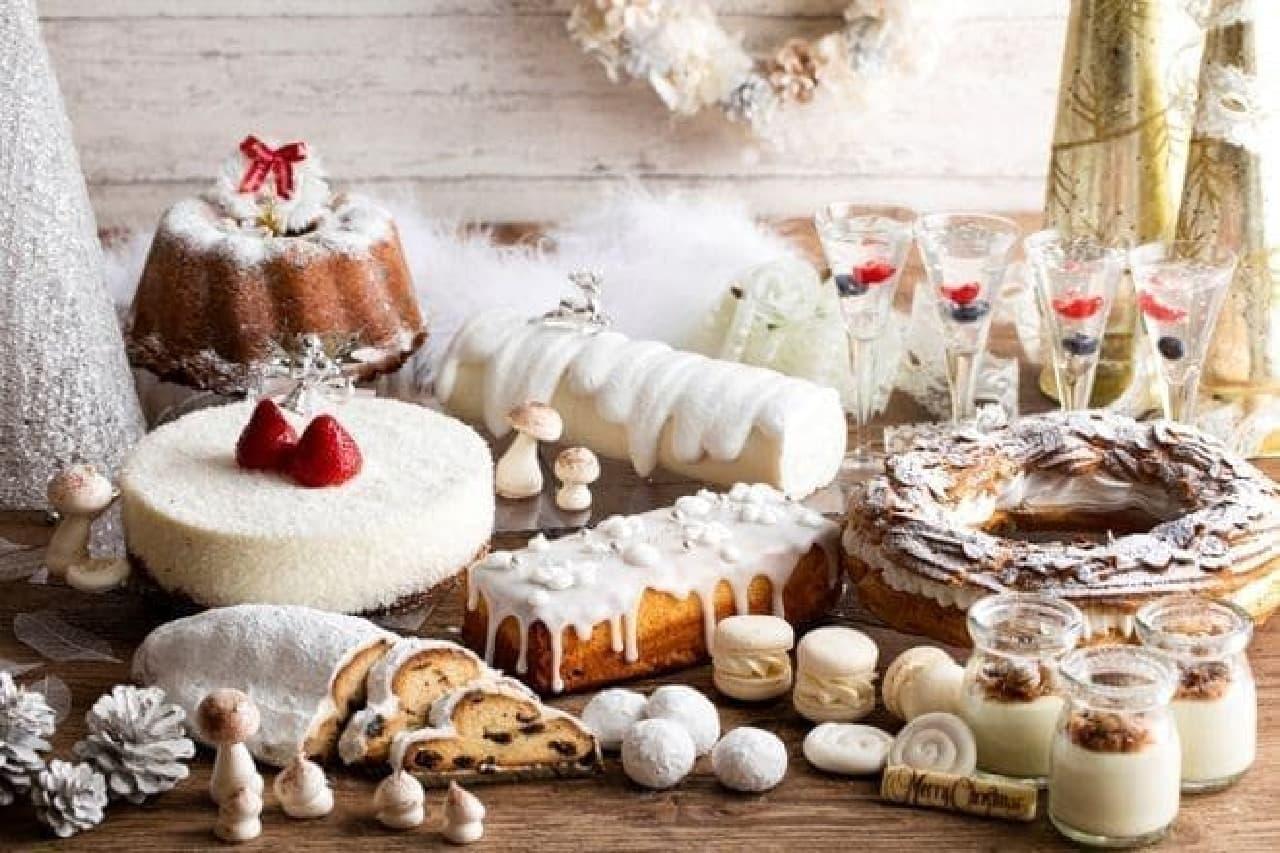 ヒルトン小田原リゾート&スパ「ホワイトクリスマス デザートブッフェ」