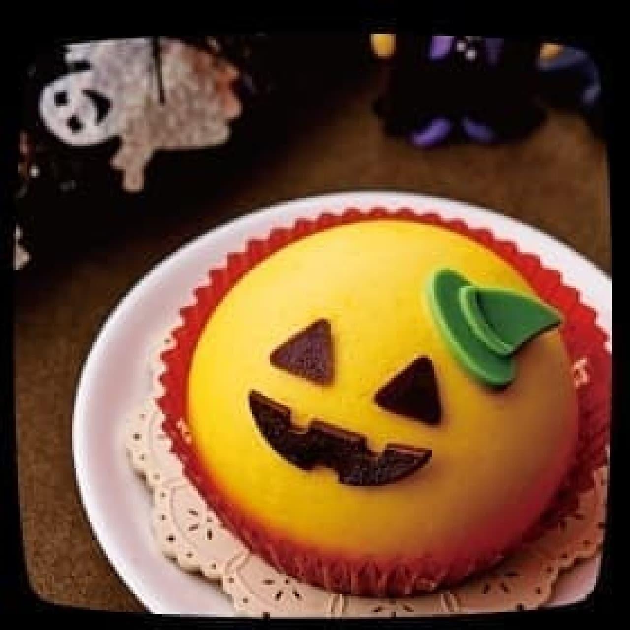 セブン-イレブン「ハロウィン かぼちゃとチョコのケーキ」