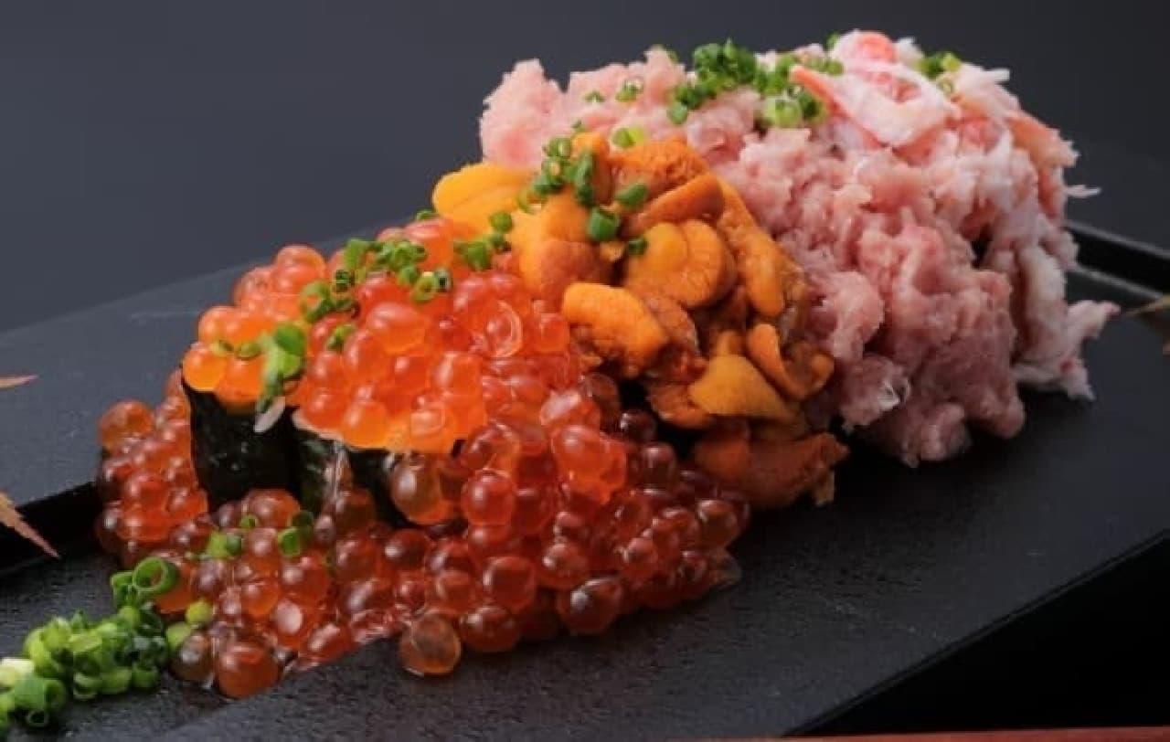 板前寿司 江戸「こぼレインボー寿司」