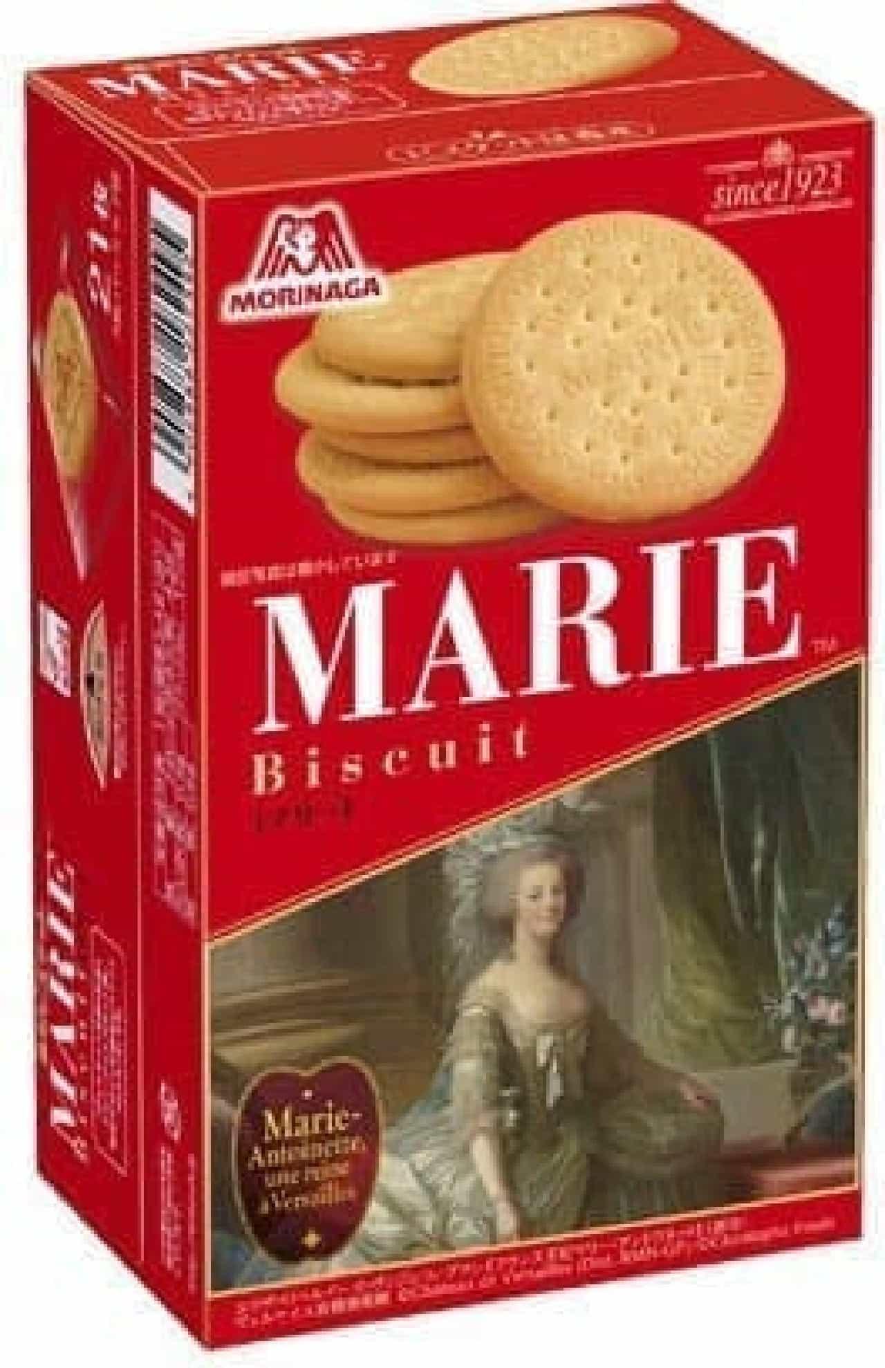 森永製菓のビスケット「マリー」