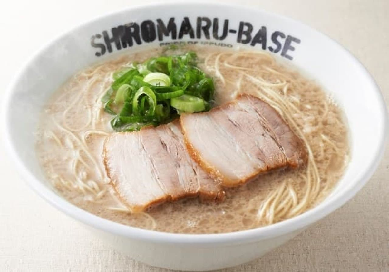 一風堂SHIROMARU BASE渋谷店「シロマルベース」