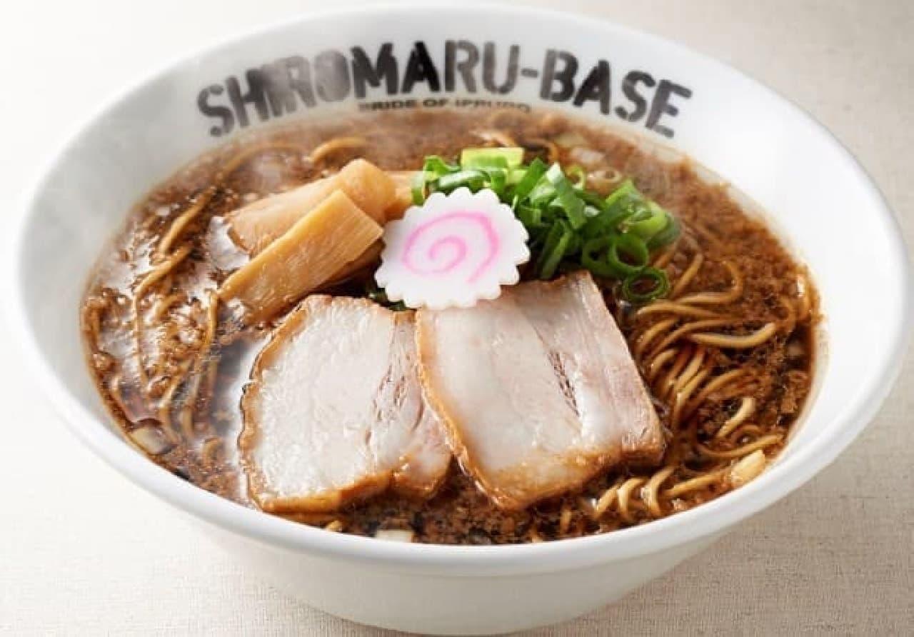 一風堂SHIROMARU BASE渋谷店「中洲ブラック」