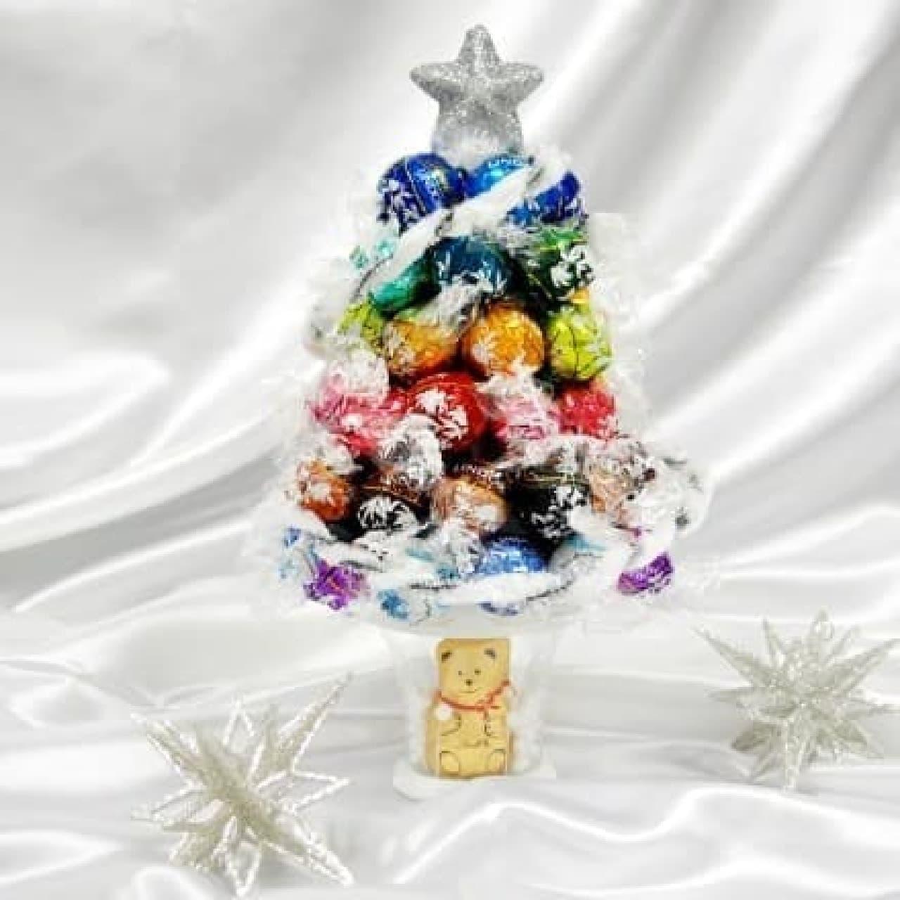 リンツ ショコラ カフェ自由が丘店、リンドールでつくるクリスマスツリー