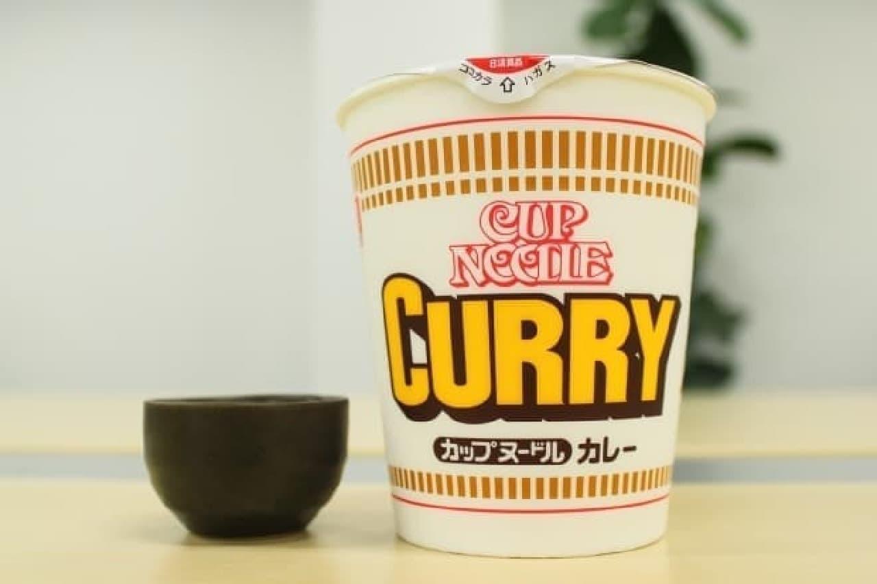 カップ麺に日本酒を入れるとおいしい