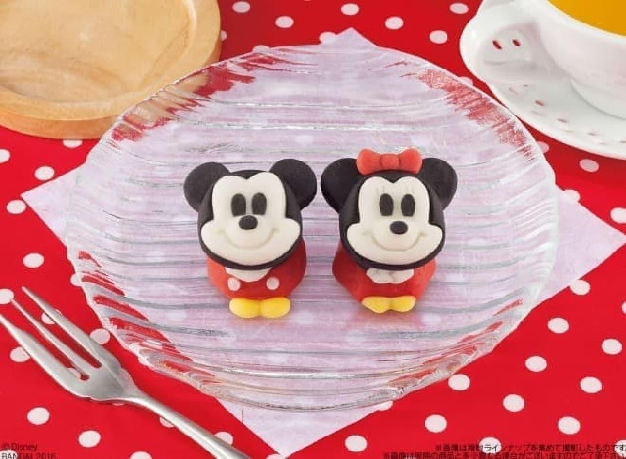 セブン&アイ「食べマス Disney ミッキーマウス」と「食べマス Disney ミニーマウス」