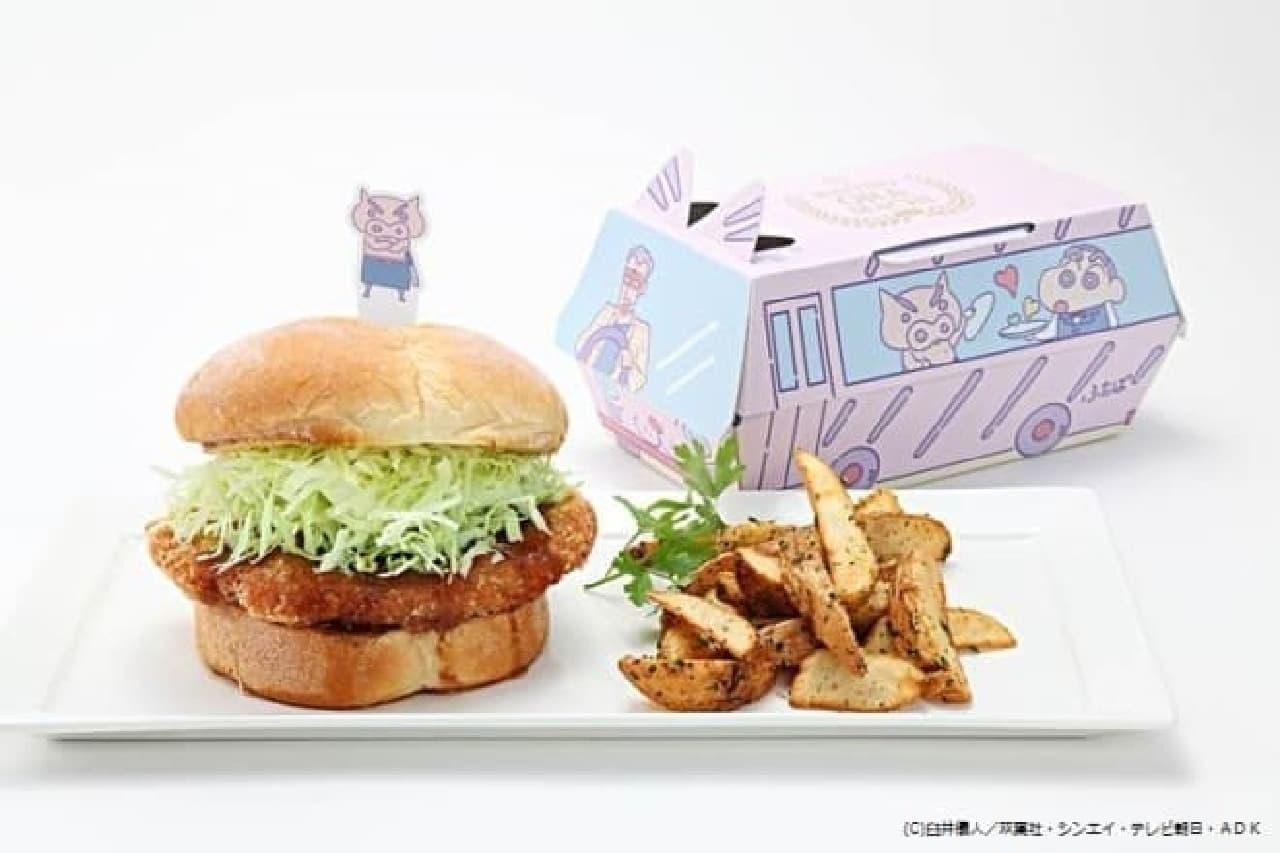 「クレヨンしんちゃん」とのコラボカフェ「ビストロ オラマチ」