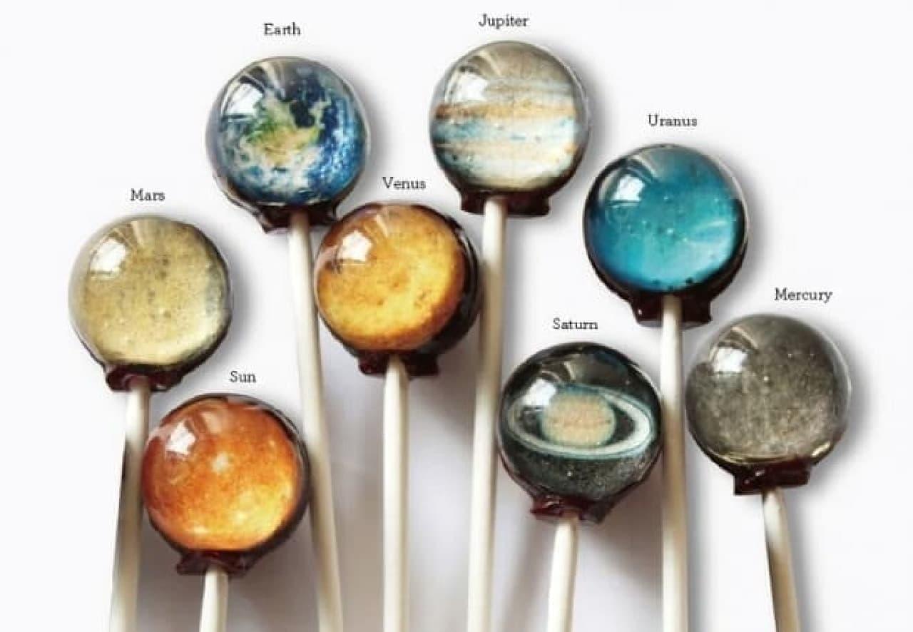 Vintage Confections 惑星キャンディー