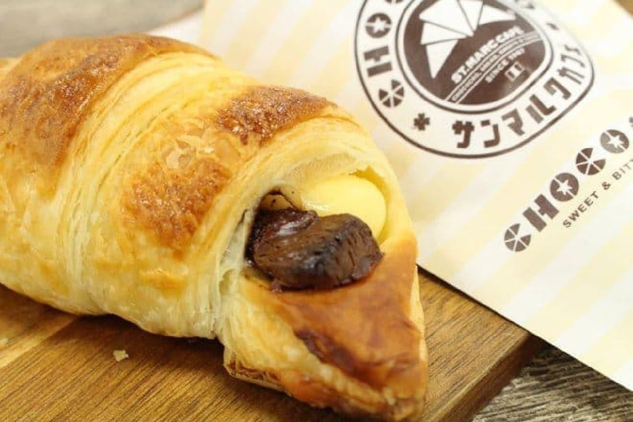 サンマルクカフェ レアチーズチョコクロ