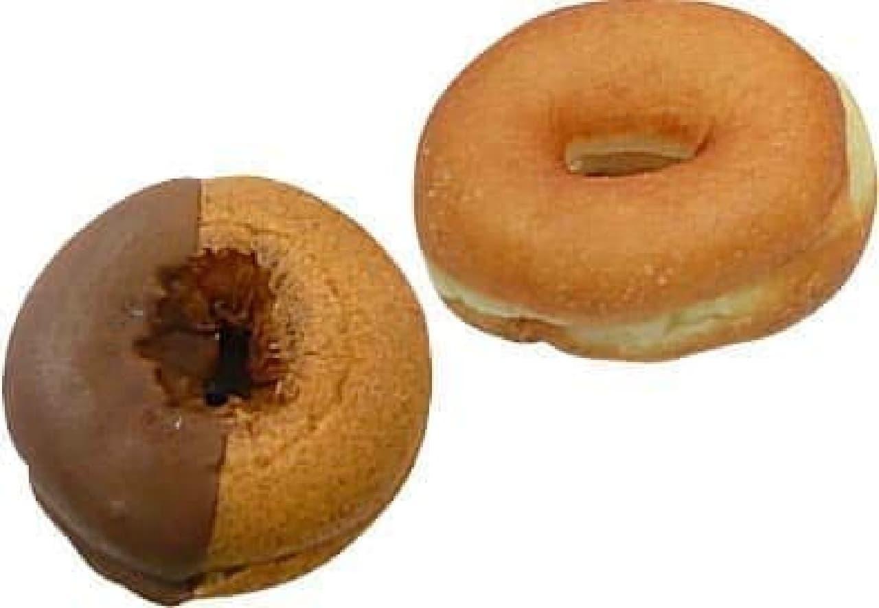 セブン-イレブン「ポムドーナツ(カフェモカ)」「ホイップ&メープルドーナツ」