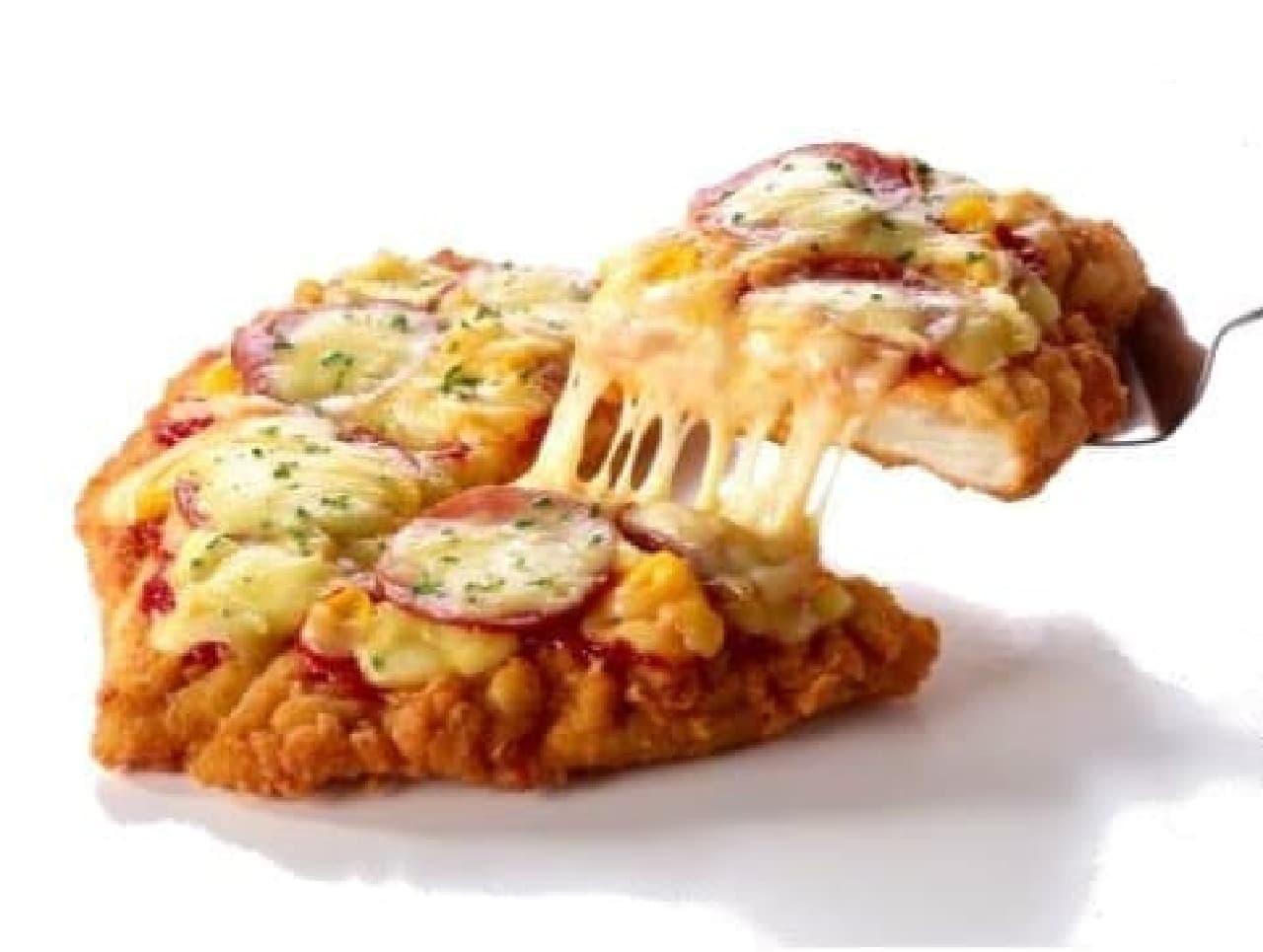 KFC「CHIZZA(チッザ)