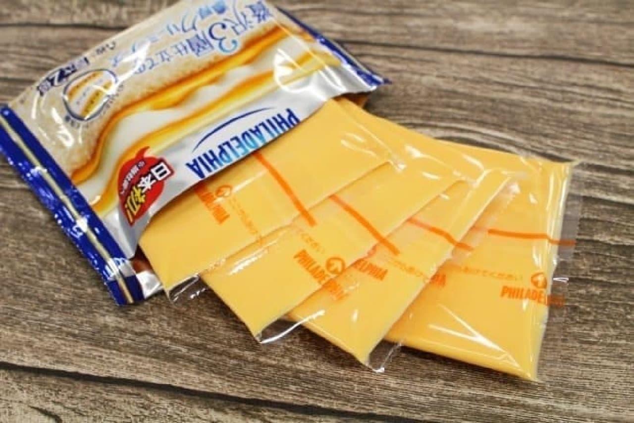 森永乳業「フィラデルフィア 贅沢3層仕立ての濃厚クリーミーチーズ」