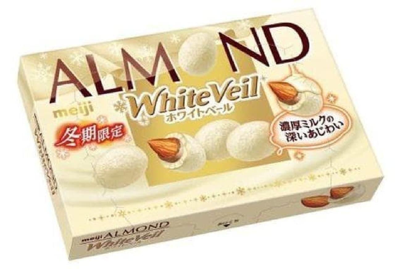 アーモンドチョコレートホワイトベール