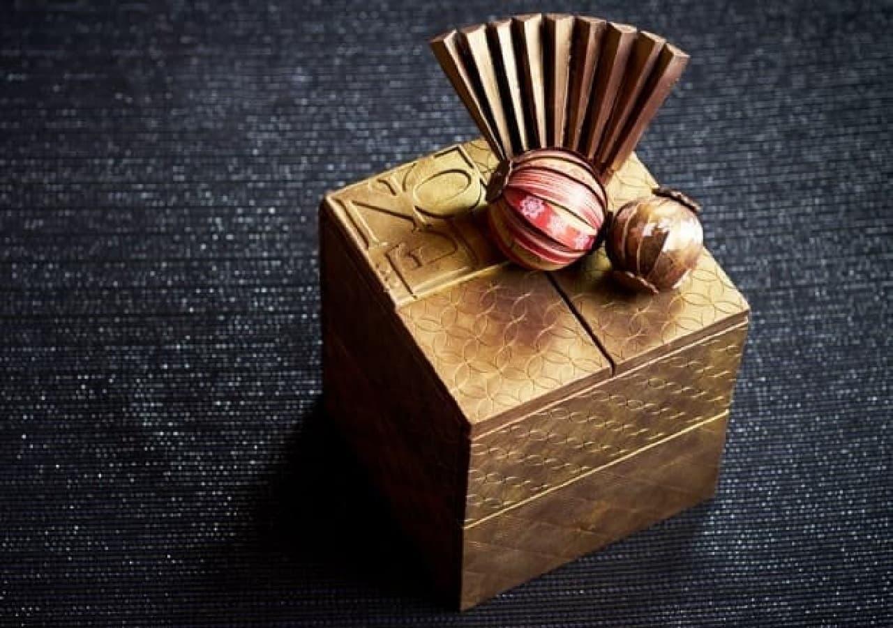 目黒雅叙園クリスマスケーキ「玉手箱 de Noel」